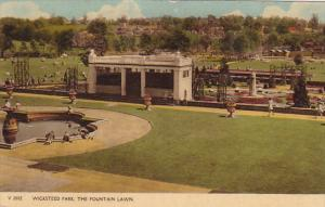 Wicksteed Park, The Fountain Lawn, Northamptonshire, England, UK, 1900-1910s