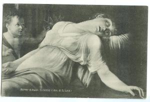 Roma, A. Pozzi, S. Cecilia used Postcard