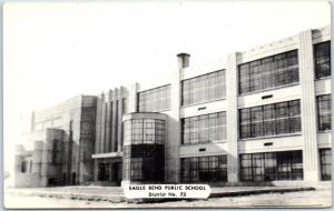 Eagle Bend, Minnesota Postcard EAGLE BEND PUBLIC SCHOOL District No. 73