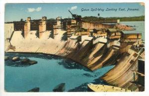 Gatun Spillway looking East, Panama, PU-1915