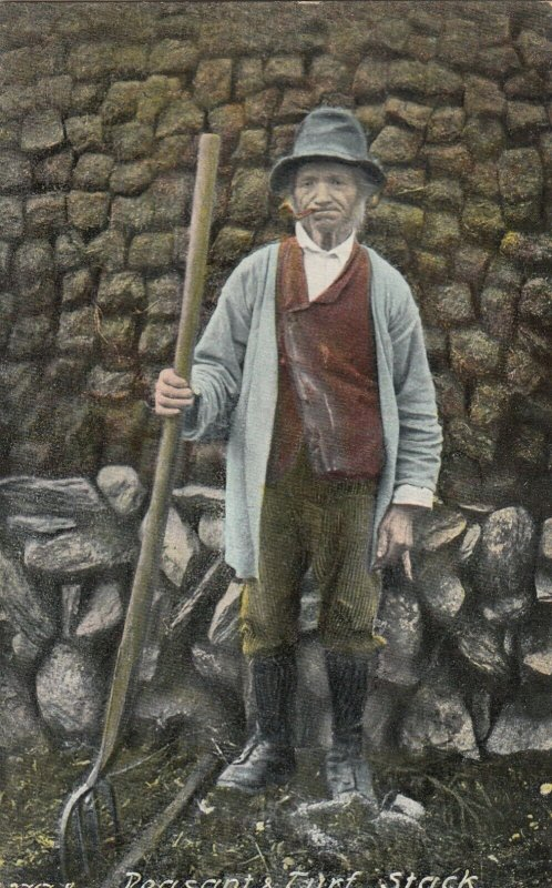 Peasant & Turf sack , Ireland , 1900-10s
