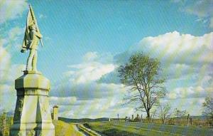 Bloody Lane Antietam National Battlefield Site Sharpsburg Maryland