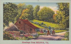 Virginia Greetings From Belona