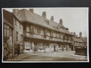 YORK St Williams College from East End - Old RP Postcard by Walter Scott 4804