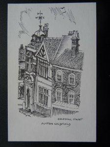West Midlands SUTTON COLDFIELD Coleshill Street c1970's Repro Postcard