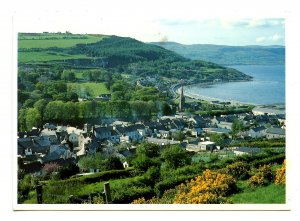 UK - Ireland, Glenarm. Bird's Eye View