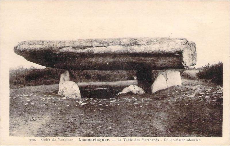 56 - Locmariaquer - La Table des Marchands, Dol-ar-March'adourien