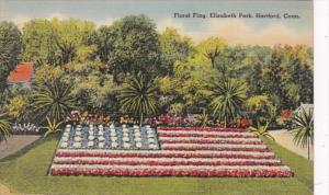Connecticut Hartford Floral Flag Elizabeth Park