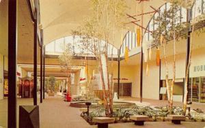 Edgewater Park Mississippi~Edgewater Plaza Mall Interior~Stores~1960s Postcard