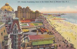 New Jersey Atlantic City Scenes Surpassing Those In The Orient Here in Atlant...