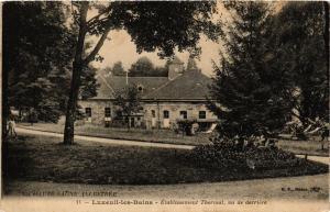 CPA Luxeuil-les-Bains - Etablissement Thermal - Vu de Derriere (636763)