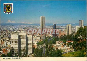 Postcard Modern Colombia Bogota Air view of the Country's capital