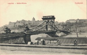 Hungary Budapest Lánchid Bridge Széchenyi Chain Bridge 06.27