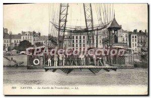 Postcard Old Nantes The Platform of the Transporter