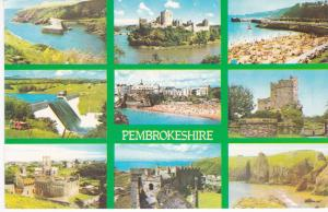 Post Card Wales Pembrokeshire 9 views