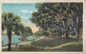 ORLANDO, Florida, 1900-10s; View in Eola Park