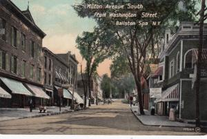 BALLSTON SPA , New York , 1908 ; Milton Avenue , South