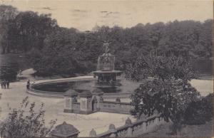 New York, N.Y. - Bethesda Fountain, Central Park - 1906