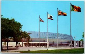 Los Angeles CA Postcard L.A. MEMORIAL SPORTS ARENA Exterior View c1960s Unused