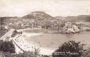 Mexico Acapulco Caletilla Y Caleta Real Photo