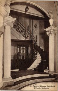 CPA PARIS Agence Havas Publicite. Escalier Principal (574225)