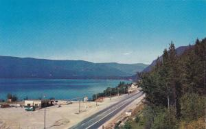 Looking East on to Agate Mountain lookout and Little Shuswap Lake,   B.C.,   ...