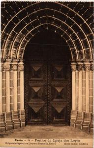 CPA Evora- Portico da Igreja dos Loyos, PORTUGAL (760803)