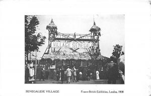 Franco-British Exhibition, Senegalese Village, London 1908
