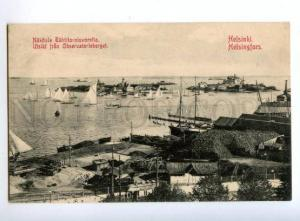 146401 Finland HELSINKI Port View from Observatory Hill OLD