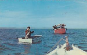 TROIS-PISTOLES, Quebec, Canada , PU-1965 , Fishermen