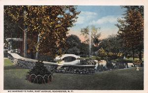 Mcinnerney's Park, East Avenue, Rochester, New York, Early Postcard, Unused