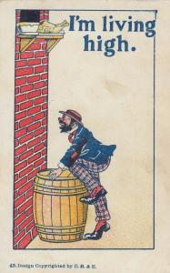 Hobo Comic , 1901-07 ; I am Living High