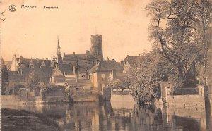Panorama Meenen Belgium 1916