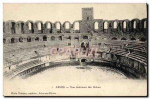 Old Postcard Arles View Inner des Arenes