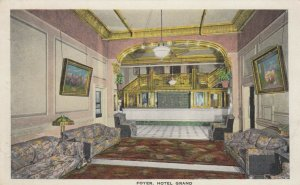 NEW YORK CITY , New York, 1910-20s; Foyer, Hotel Grand