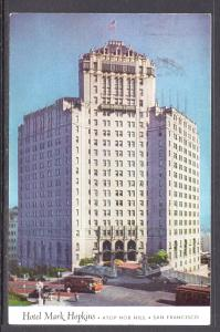 Hotel Mark Hopkins,Sna Francisco,CA