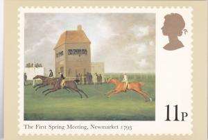 Stamps Of Great Britain Horse Racing The First Spring Meeting Newmarket 1793 ...