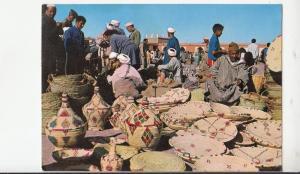 BF17791 morocco scenes et types jour de souk  front/back image