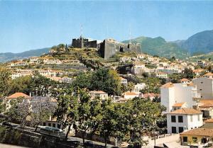 Portugal Funchal Madeira Fortresse du Pico Castelo do Pico Panorama