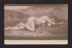 077599 NUDE Nymph FAIRY by CHANTRON Vintage SALON 1911