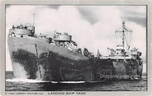 Military Battleship Postcard, Old Vintage Antique Military Ship Post Card Lan...