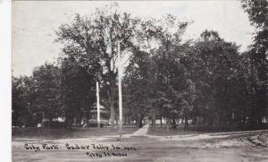 CEDAR VALLEY, Iowa, PU-1909; City Park