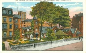 The Little Church Around the Corner, New York City, 1920s...