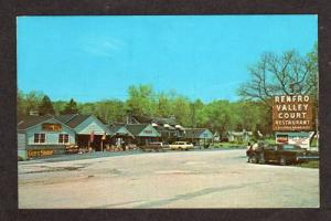 KY RENFRO VALLEY Motel Restaurant KENTUCKY Postcard PC