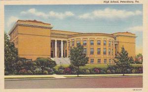 Exterior, High School, Petersburg, Virginia, 30-40s