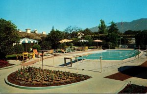 California Arcadia Eaton's Santa Anita Hotel 1963