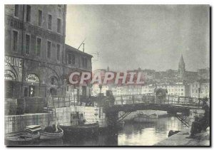 Modern Postcard Marseille