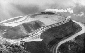 Narrow Gauge Railway and Mountain Road    *RPPC