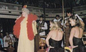 ORLANDO, Florida, 1950-1960s; Red Hot Mama - Ruth Crews at Church Street Station