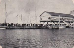 New Jersey Atlantic City Yachting P:ier At The Inlet 1909
